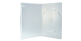 SLIM DVD BOX <BR/> TRANSPARANT